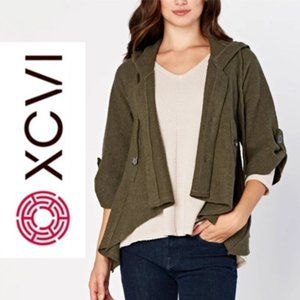 XVCI Sweeping Cape Jacket in Tan NWOT